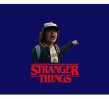 Dustin Stranger Things Photographic Print