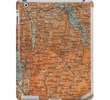 Vintage Map of Annecy France (1914) iPad Case/Skin