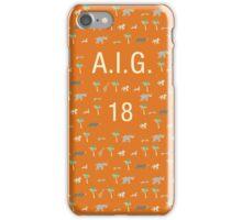 Pattern AIG 18 Darjeeling Limited & Hotel Chevalier iPhone Case/Skin