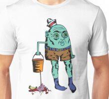 Blue Seaman's Bucket Unisex T-Shirt
