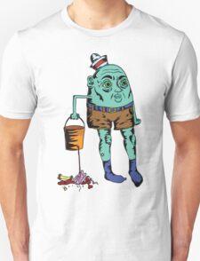 Blue Seaman's Bucket T-Shirt
