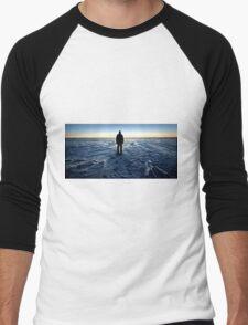 Antarctic Sunset Men's Baseball ¾ T-Shirt
