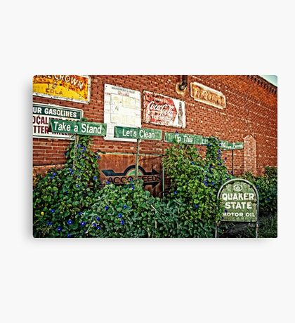 Oklahoma Farm Bureau Okies Take a Stand Canvas Print