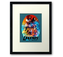 Legends tomorrow Framed Print