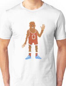 Yeti wish he was a little bit taller Unisex T-Shirt