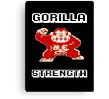 Gorilla strength Canvas Print