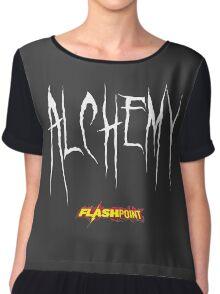 Doctor Alchemy - Flashpoint Chiffon Top