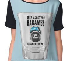 Shot for Harambe Chiffon Top