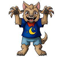 Little Werewolf Photographic Print