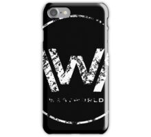 westworld  everything can happen iPhone Case/Skin