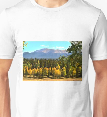 Pikes Peak in Autumn Unisex T-Shirt