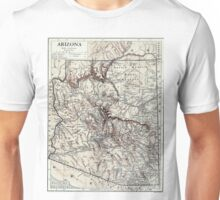 Vintage Map of Arizona (1911) Unisex T-Shirt