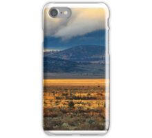 Two Barn Sunset iPhone Case/Skin