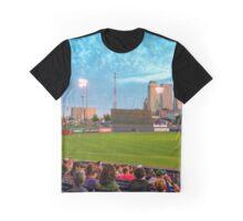 Oneok Stadium, Tulsa Drillers, Tulsa Skyline Photo, Tulsa Art, Best Tulsa Photos Graphic T-Shirt