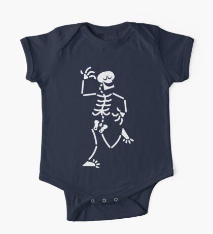 Dancing Skeleton One Piece - Short Sleeve