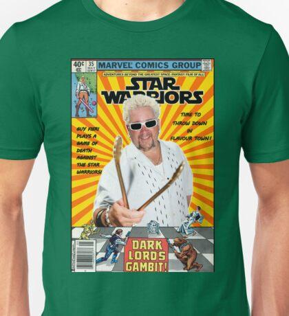 Star Warriors/Guy Fieri Unisex T-Shirt