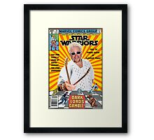 Star Warriors/Guy Fieri Framed Print