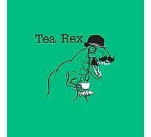Tea Rex -Tea Time Photographic Print