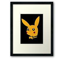 playboy pikachu Framed Print