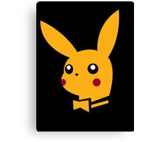 playboy pikachu Canvas Print