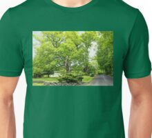 Historical Pin Oak Tree - George Washington could have leaned on this tree Unisex T-Shirt