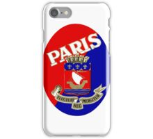 1925 Paris Luggage Label iPhone Case/Skin