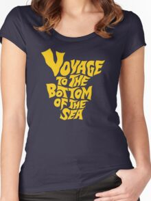 Voyage to the Bottom of the Sea Women's Fitted Scoop T-Shirt