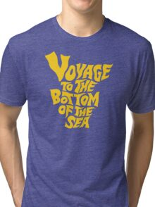 Voyage to the Bottom of the Sea Tri-blend T-Shirt