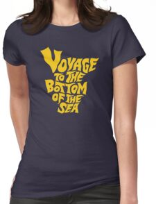Voyage to the Bottom of the Sea Womens Fitted T-Shirt