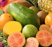 Tropical Fruit  by BravuraMedia