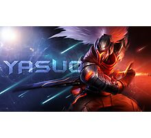 Project : Yasuo / League Of Legends Photographic Print