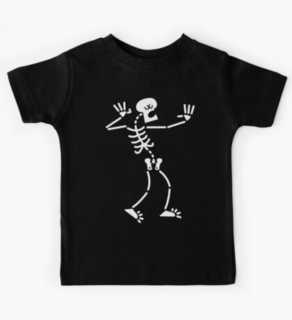 Singing Skeleton Kids Tee
