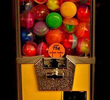 Gumball Machine Yellow - Series - Iconic New York City by Miriam Danar