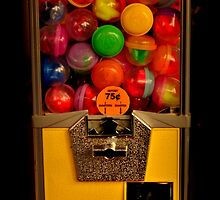 Gumball Machine Yellow - Series - Iconic New York City by Miriam Danar