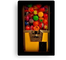 Gumball Machine Yellow - Series - Iconic New York City Canvas Print