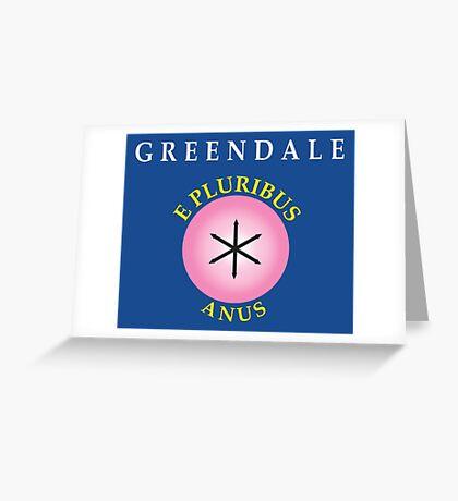 E Pluribus Anus Greeting Card