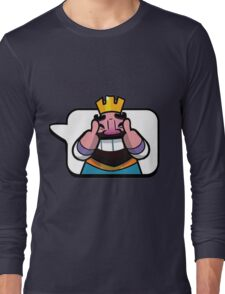 Funny Reaction - Clash royale Long Sleeve T-Shirt