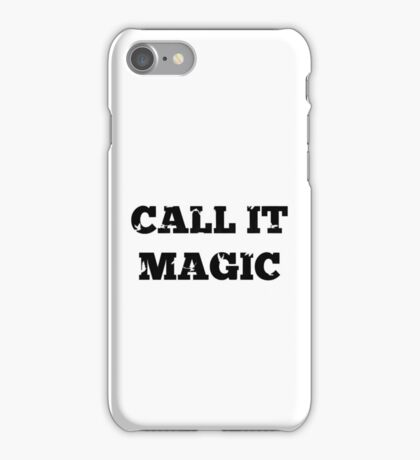 Call it magic - Coldplay iPhone Case/Skin