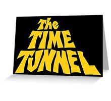 The Time Tunnel Greeting Card
