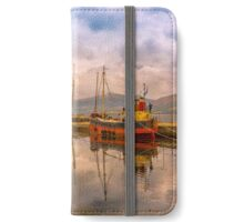 Evening at the Dock iPhone Wallet/Case/Skin
