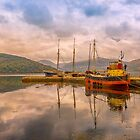 Evening at the Dock by peaky40