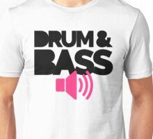 Drum & Bass Speaker Music Quote Unisex T-Shirt