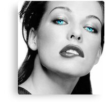 Mrs. Jovovich Canvas Print
