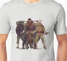 Turtle Gang By JBadgr Unisex T-Shirt