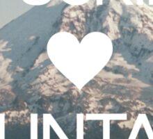 I Fucking (Heart) Mountains Sticker