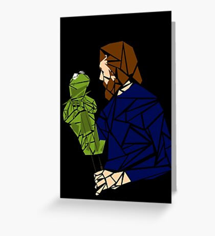 The Muppet Master (version 2) Greeting Card