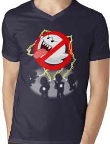 Boo Busters Mens V-Neck T-Shirt