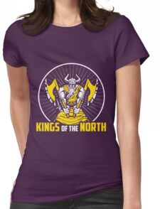 Limited Edition Minnesota Vikings Kings Of The North Womens Fitted T-Shirt