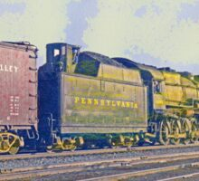 Pennsylvania Railroad 2-10-2, Angola NY, 1951 Sticker