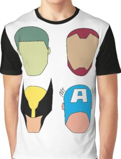 Super Heroes Graphic T-Shirt